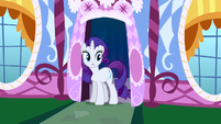 Rarity shocked by Pinkie's antics S1E26