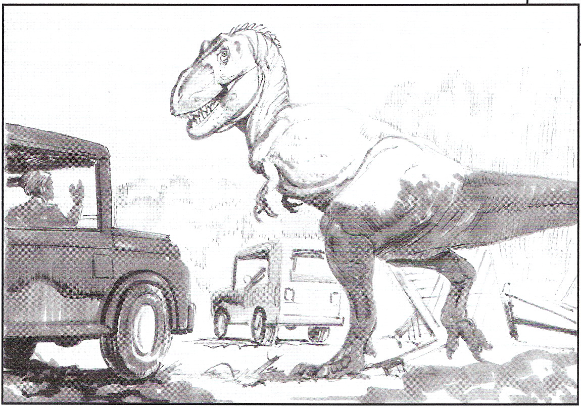Free Coloring Pages Of Jurassic Park T Rex