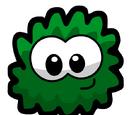 Dark Green Fuzzy