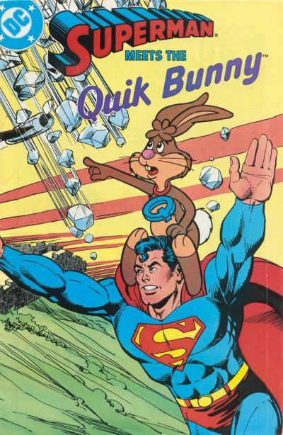 Image Superman And The Quik Bunny Jpg Epic Rap Battles