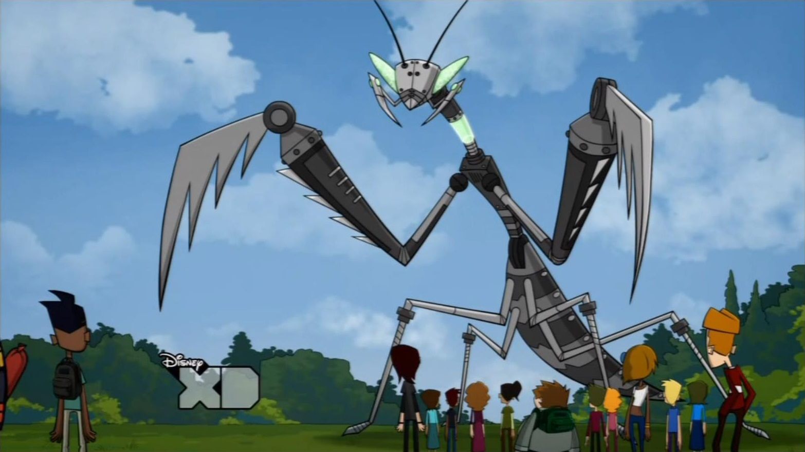 Giant Mantis Monster The Robo-mantis is a Giant