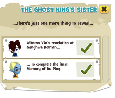 The Ghost King S Sister Here Be Monsters Wiki