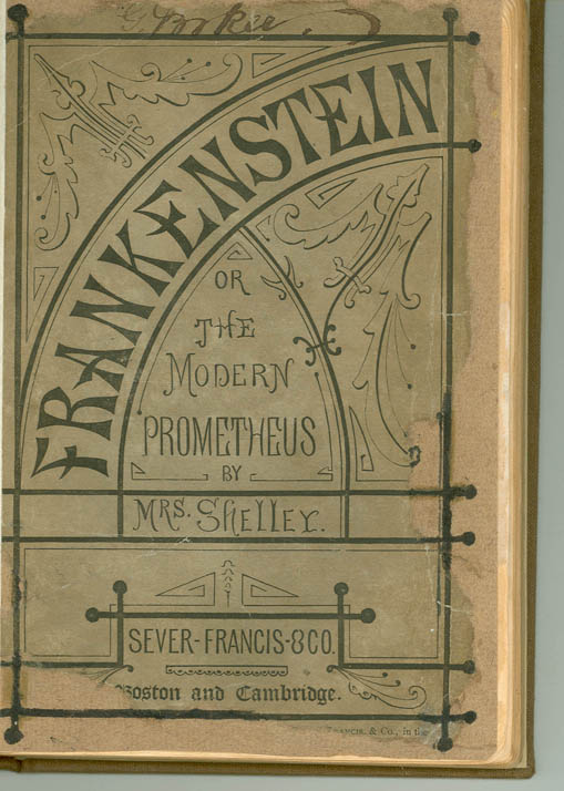 Modern Book Cover Up : Frankenstein steampunk wiki