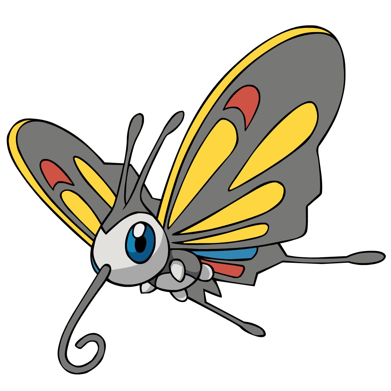 Beautifly Pokemon Evolution 267Beautifly AG anime 2