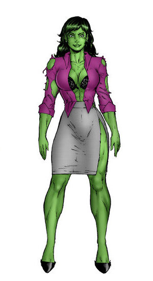 Image - She hulk transformation by joew771-d5vzv1o.jpg - Degrassi Wiki