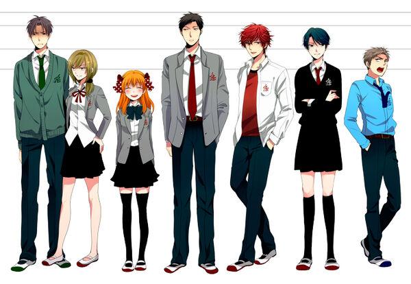 Anime Characters Over 6 Feet Tall : Bilan les animes marluuna