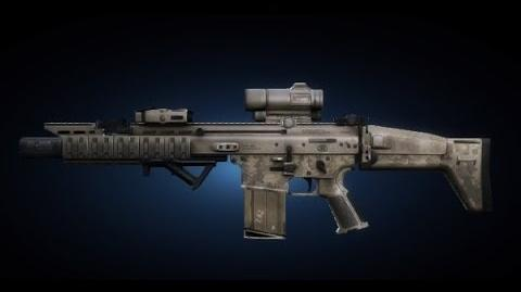 Contract Wars SCAR-H Shooting Test-1
