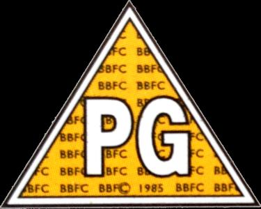 image bbfc pg 1985png logopedia the logo and