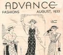 Advance Fashions August 1933