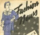 Butterick Fashion News May 1935