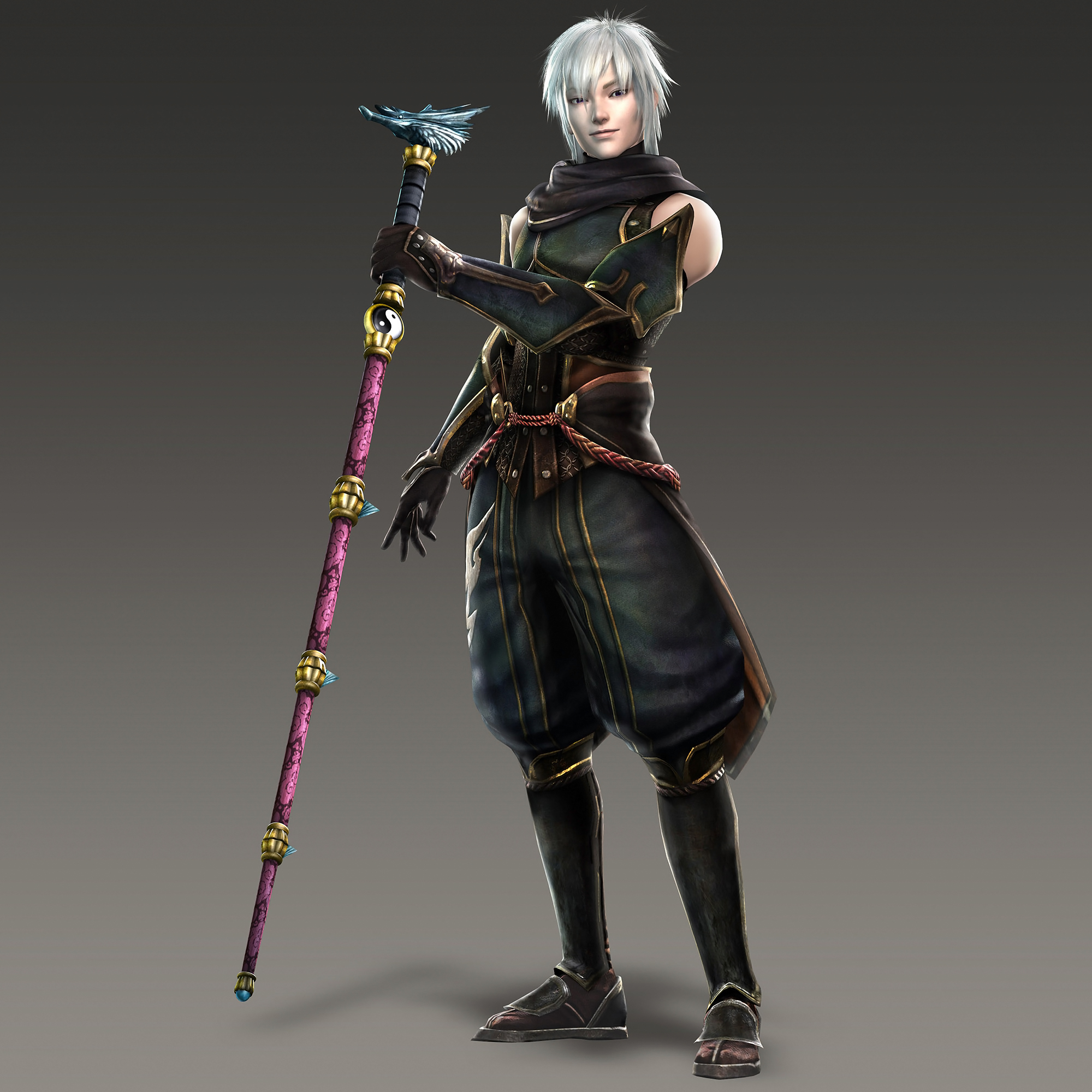 Warriors Orochi 4 How To Change Characters: Taigong Wang Toukiden Costume (WO3U DLC).jpg