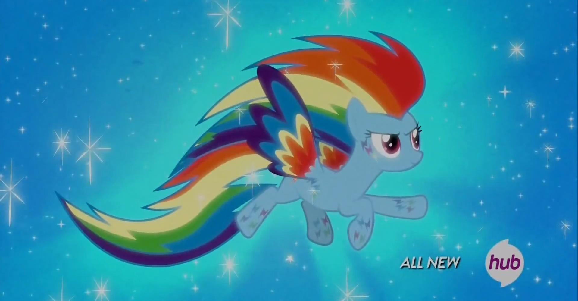 Rainbow Dash como Breezie en It Ain't Easy Being Breezies