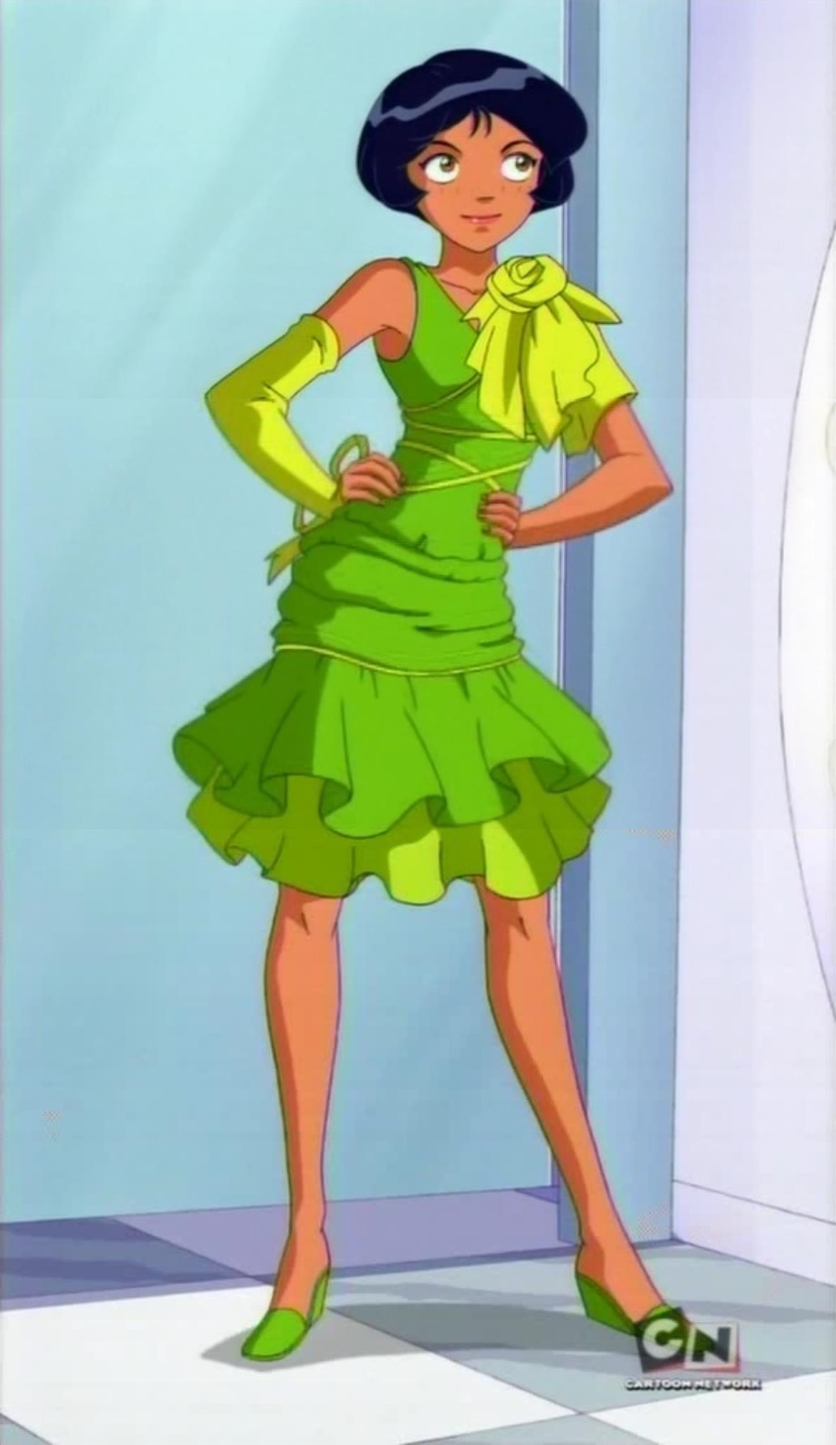 Image alex 39 s new dress totally spies wiki - Totally spies alex ...