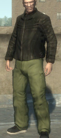 Gta 4 Claude Outfit
