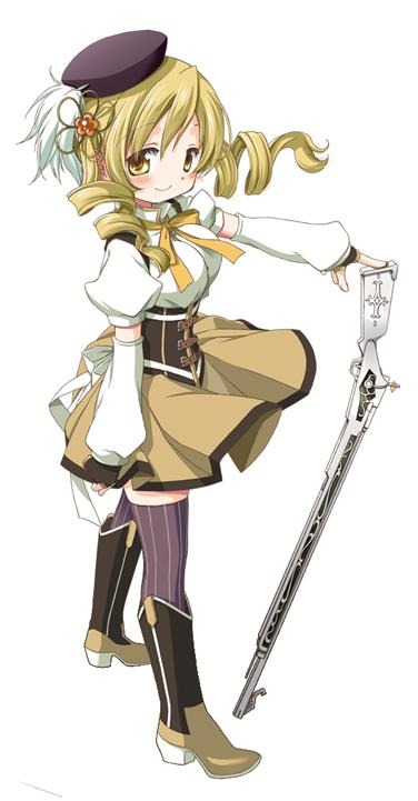 Image - Puella Magi Madoka Magica Mami pose3.png - Magical Girl (Mahou ...