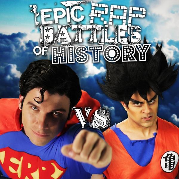 Goku vs Superman - Epic Rap Battles of History Wiki