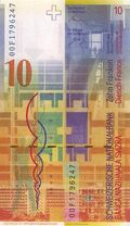 Switzerland 10 CHF rev v