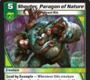 Shouter, Paragon of Nature