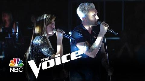 "Christina Grimmie and Adam Levine ""Somebody That I Used to Know"" (The Voice Highlight)"
