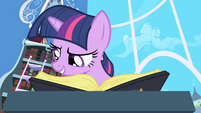 "Twilight reading ""Elements of Harmony"" passage S1E01"