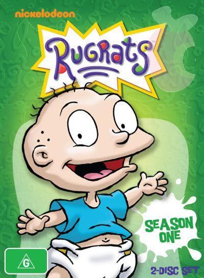 Image - Rugrats Season 1 Australia DVD jpg - Nickelodeon - Wikia