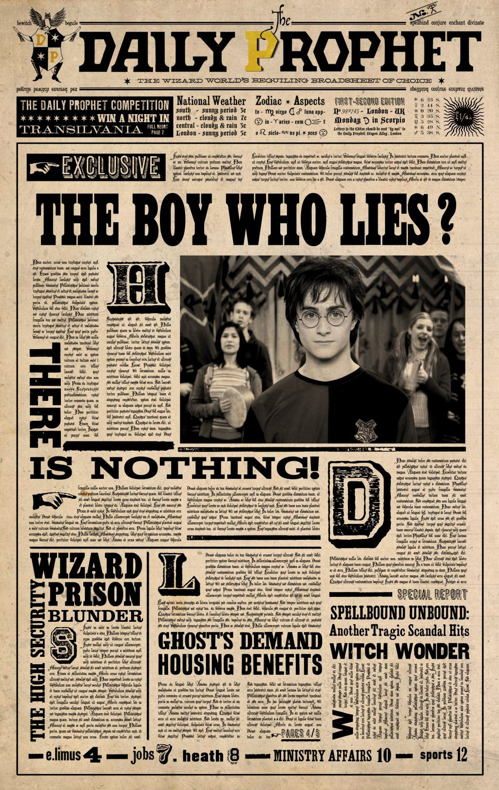 Daily Prophet - Harry Potter Wiki
