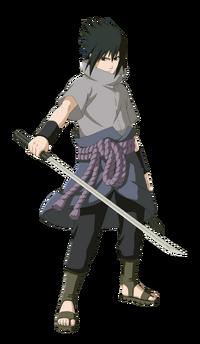 Sasuke Uchiha (Infobox - Renderização)