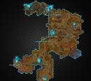 Blutrote Insel