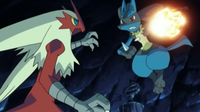 ¡Lucario VS Blaziken! ¡¡La cueva de las pruebas!! Pokemon XY
