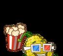 Popcorn-pult