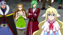 Thunder God Tribe and Mavis watch Erza's battle.png