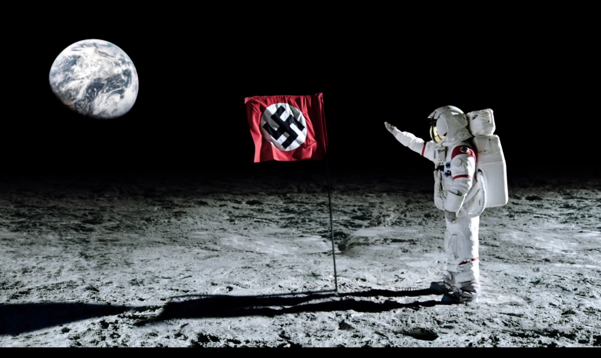Flag On Moon From Earth (page 2) - Pics about space
