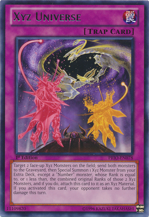 Yugioh Number 99 Universe Dragon Xyz Universe - Yu-Gi-O...