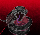 Serpiente de aclarar la mirada