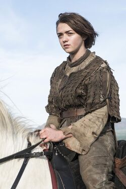 Arya Stark profile Season4