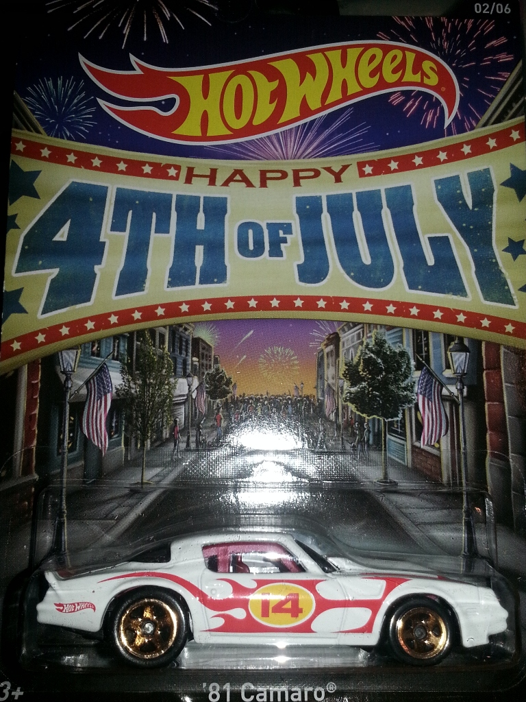 Red Window Tint >> Fourth of July Cars - Hot Wheels Wiki