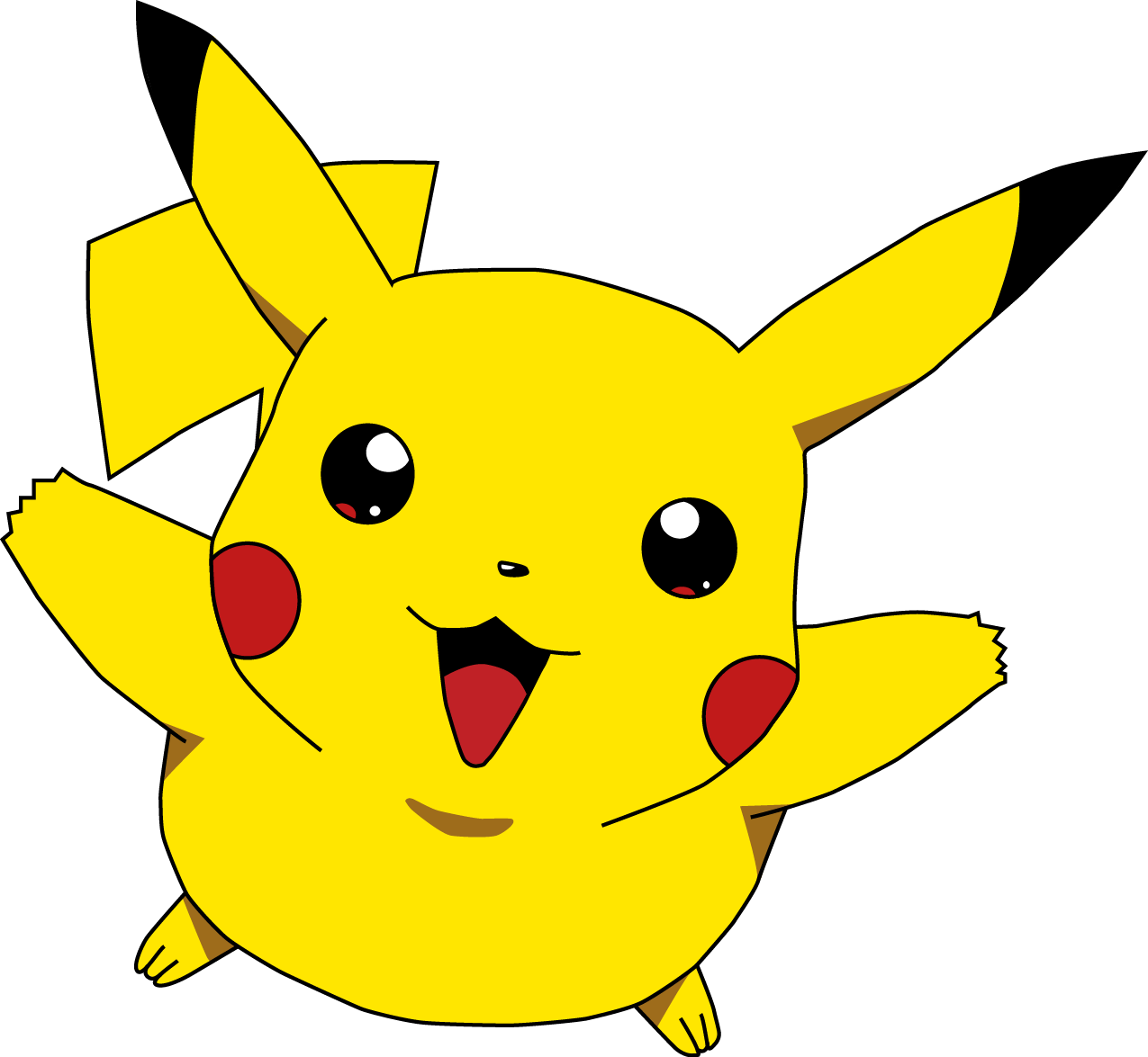 Image - Pikachu cute happy jump.png - Legends of the Multi ...
