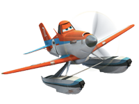 Planes - fire & rescue dusty crophopper