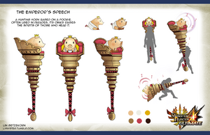MH4U-Emperor's Speech Concept Artwork 001
