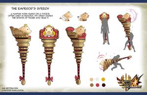 MH4U-Emperor's Speech Concept Artwork 001
