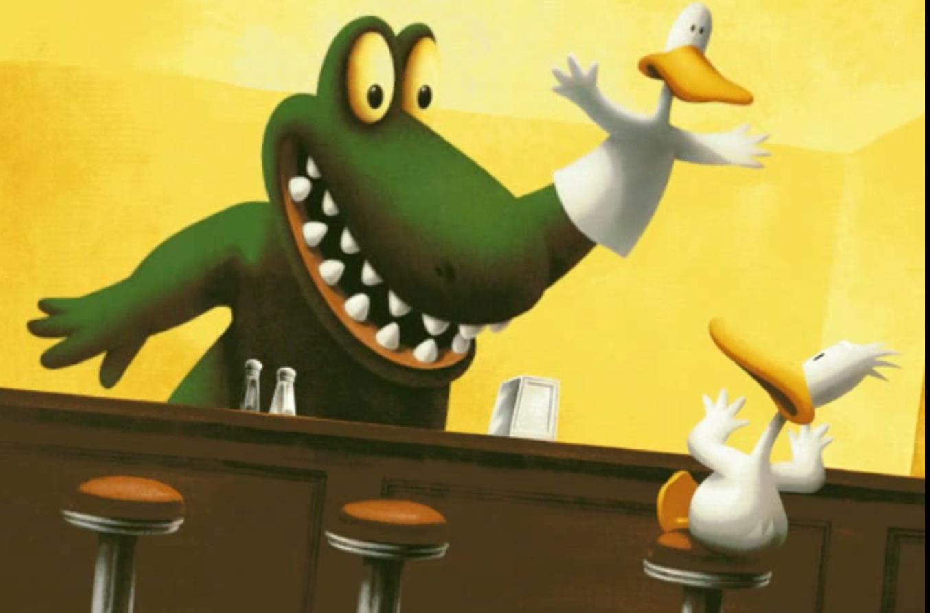 Duck Puppet Alligator - Villains Wiki - villains, bad guys ... - photo#36