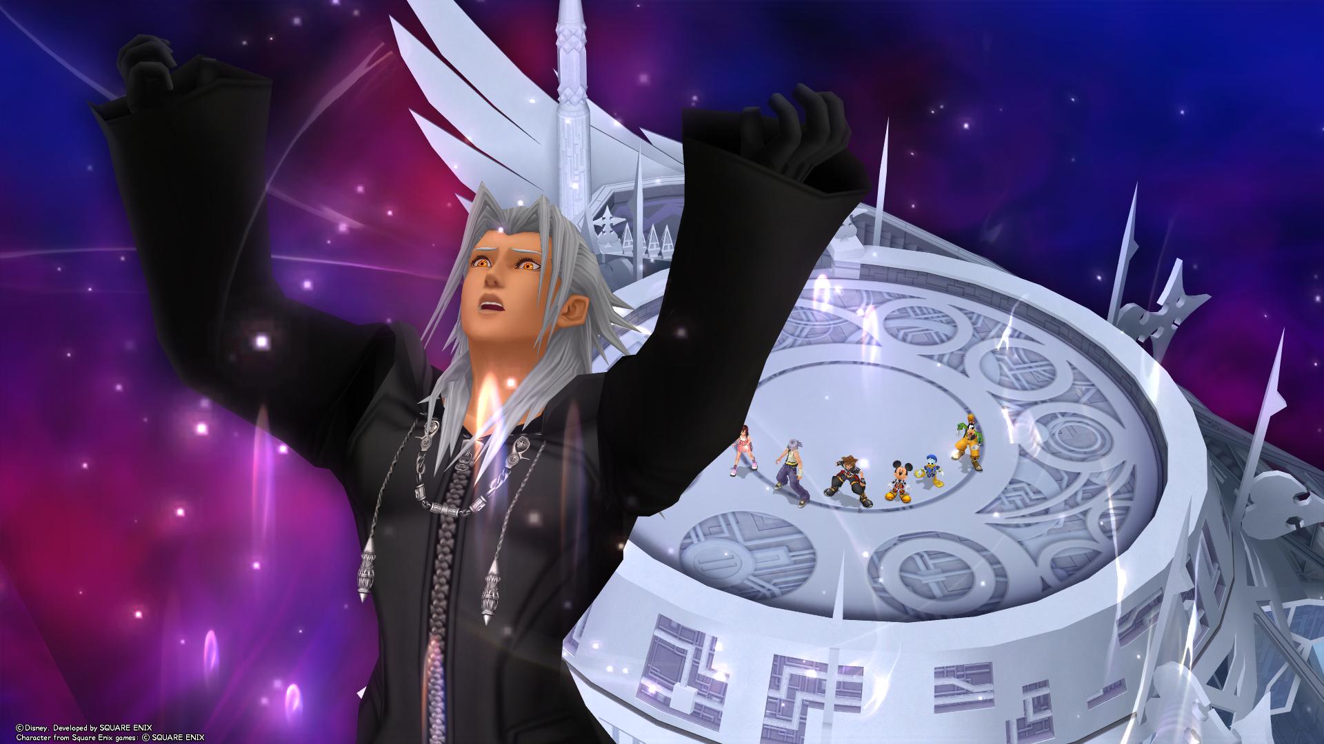 Xemnas - The Keyhole: Ye Olde Kingdom Hearts Fansite