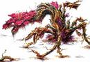 Concept Art - Godzilla vs. Biollante - Biollante Rose 12.png