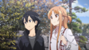 Asuna with Kazuto in the East Garden.png