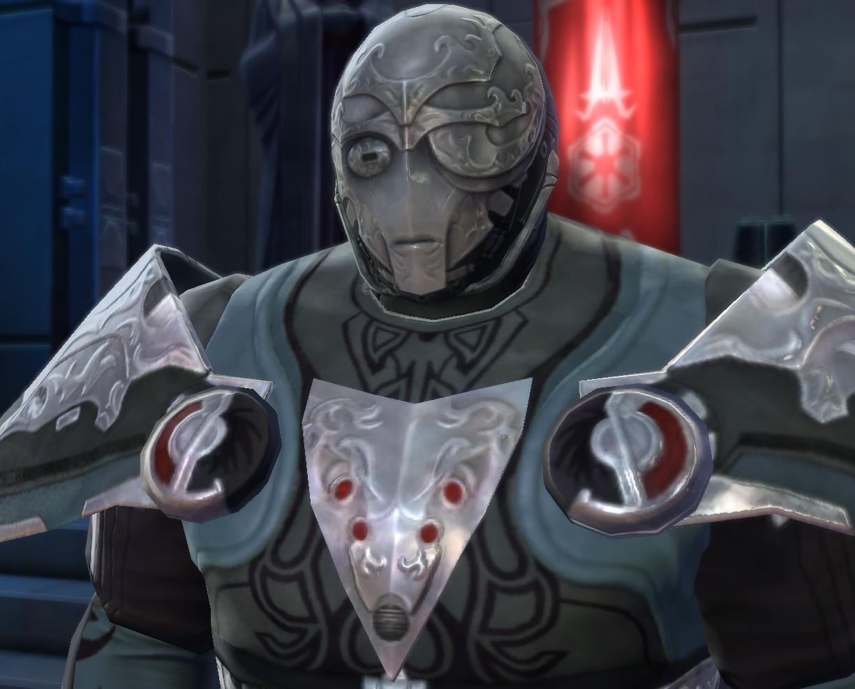 swtor how to get revan reborn armor set