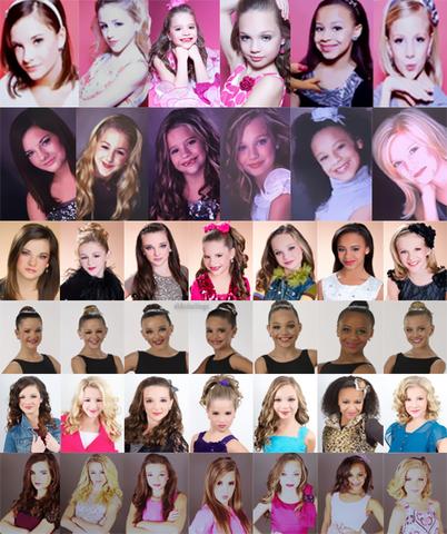 Image - Pyramid collage season 1-4.png - Dance Moms Wiki