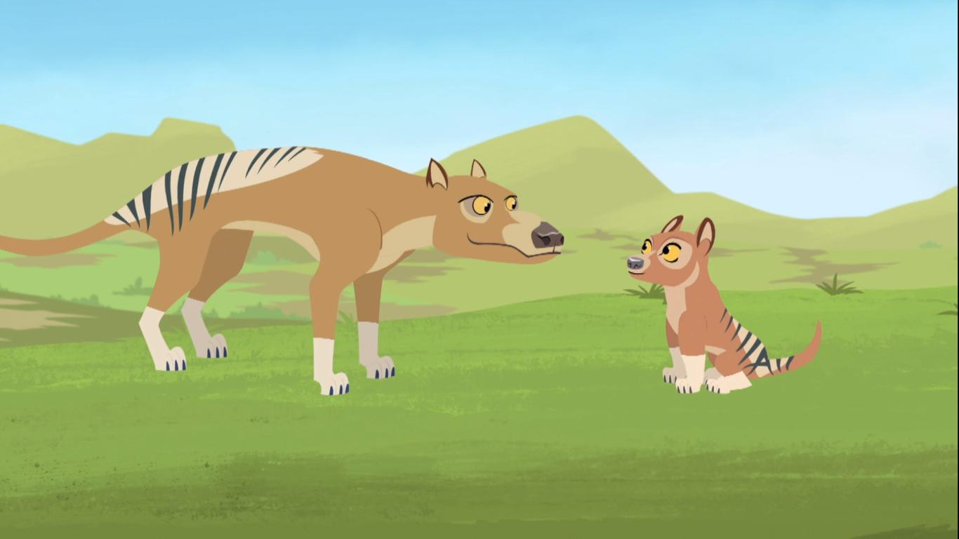 Image - Tasmanian.tiger.wildkratts.PNG - Wild Kratts Wiki ...