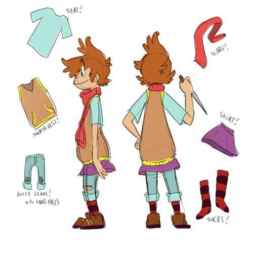 Sock Sowachowski ~ID~ Sock_outfit_model