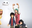 Bowser & Jr./Big Hero 6 cast and characters revealed