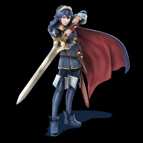 La presentación de un nuevo personaje,Lucina está disponible Lucina_SSB4
